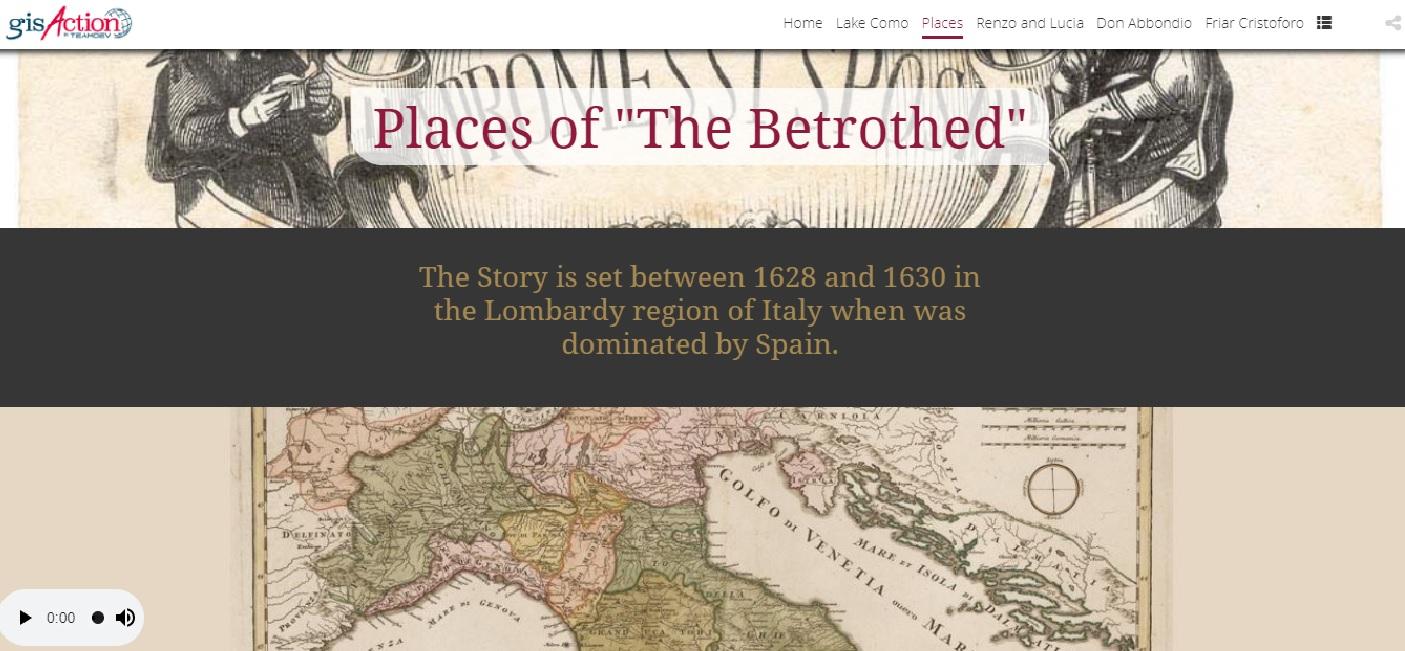 storymap promessi sposi conferenza esri italia