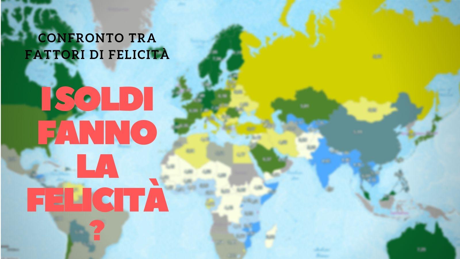 Mappa relazione tra PIL e libertà di scelta