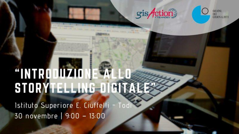 storytelling digitale ! gisAction
