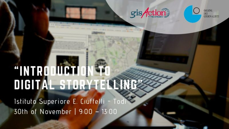 Introduction to Digital Storytelling | gisAction