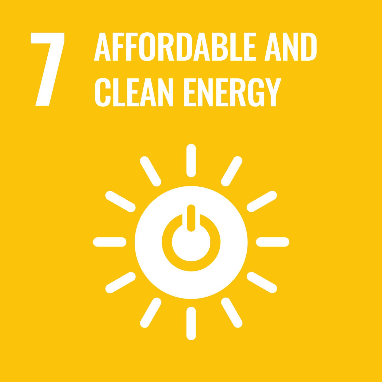 SDG MAP 7 – Energia Pulita e Rinnovabile