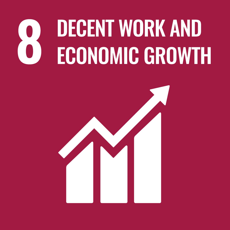 SDG MAP 8 – Lavoro Dignitoso e Crescita Economica