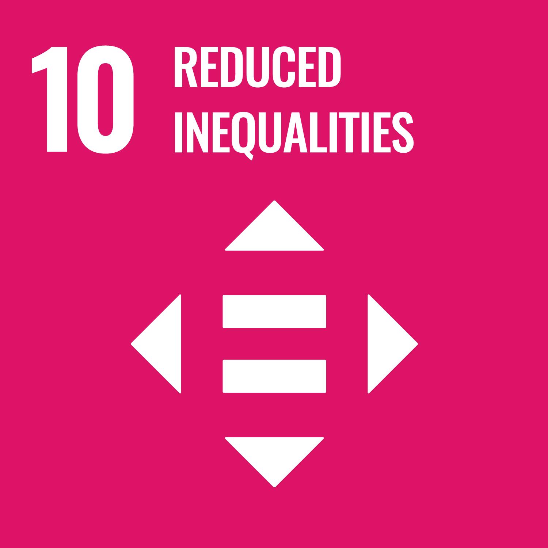 SDG MAP 10 – Ridurre le Disuguaglianze