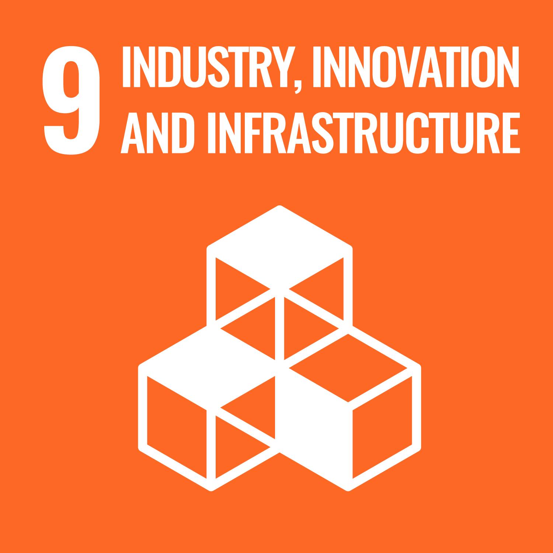 SDG MAP 9 – Industria, Innovazione e Infrastrutture