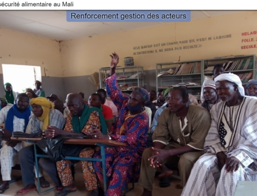 StoryMap for Rural development and Food Security in Mali
